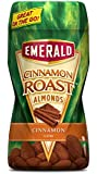 Emerald Cinnamon Roast Almonds, 8.5 Oz. Cannister (2 Pack)