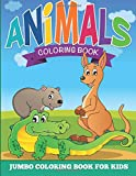 Animal Coloring Pages: Jumbo Coloring Book For Kids
