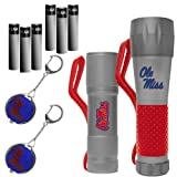 NCAA Mississippi Rebels LED Flashlight Multipack