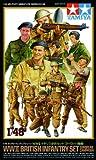 WWII British Infantry Set (European Campaign) - 1:48 Military - Tamiya