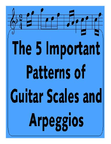 The 5 Important Patterns of Guitar Scales and Arpeggios