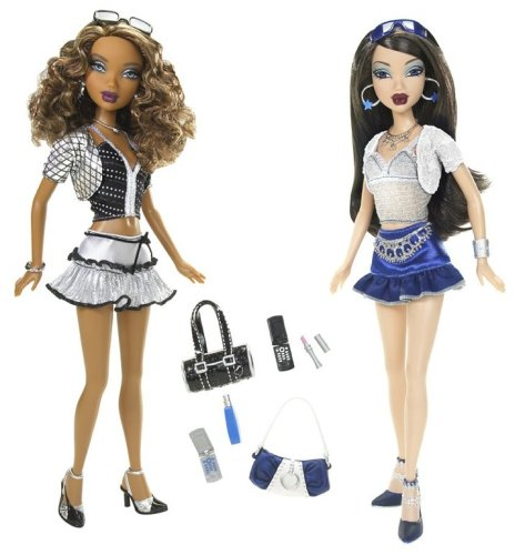 My Scene Lets Go Disco Friend Pack with Madison and Nolee - Buy My Scene Lets Go Disco Friend Pack with Madison and Nolee - Purchase My Scene Lets Go Disco Friend Pack with Madison and Nolee (Mattel, Toys & Games,Categories,Dolls,Fashion Dolls)
