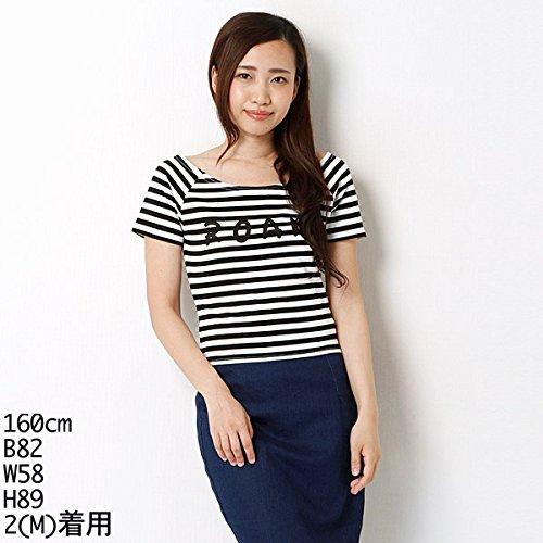 ムルーア(MURUA) Tシャツ(ROAMボーダーT-SH)【M00ホワイト/S】