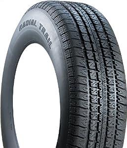 ST225/75R15 Carlisle Radial Trailer Tire LR D 2,540 lb Capacity