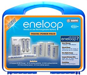 Sanyo eneloop Travel Power Pack Kit (Discontinued by Manufacturer)