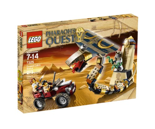 51Ae4UnqF8L Cheap Price LEGO Pharaohs Quest Cursed Cobra Statue 7325