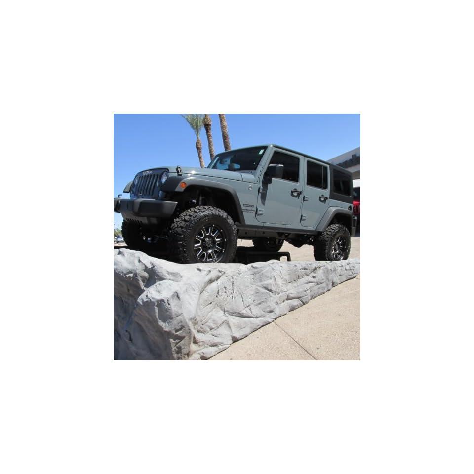 2007 2014 Jeep Wrangler Four Door 3 Stage 3 Lift Kit Fox Racing Shox Mopar OEM