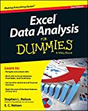 Excel Data Analysis For Dummies (For Dummies (Computers))