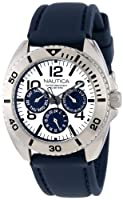 Nautica Men's N11609G Sport Ring Box Set Classic Analog Enamel Bezel Watch from Nautica