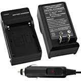 Insten Battery Charger Compatible with SONY Li-Ion NP-FM500H NP-F550 NP-F570