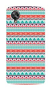 SWAG my CASE PRINTED BACK COVER FOR GOOGLE NEXUS 5 Multicolor