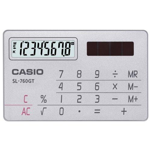 Dígitos de calculadora 8 de Casio Calculadora Casio tarjeta SL-760GT-N