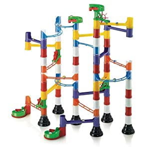 Marble Run Super 106 Pieces By Quercetti - Quality Construction Toy