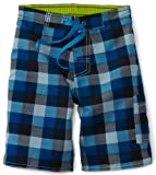 Charlie Rocket Little Boys Buffalo Plaid Short
