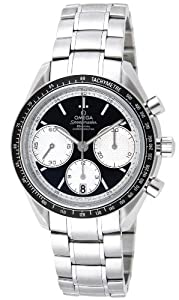 Omega Speedmaster Racing Black Dial Stainless Steel Mens Watch OM32630405001002