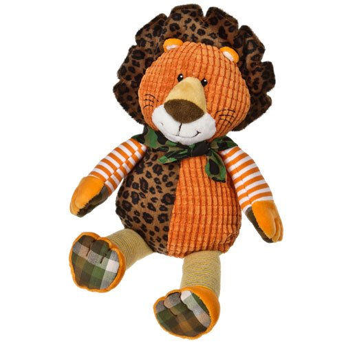 "Mary Meyer 11"" Motley Zoo Motley Lion front-987276"