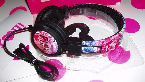 Victoria'S Secret Pink Dj Headphones Floral Print