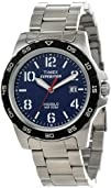 Timex Unisex T499259J  Expedition Rugged Metal Field Blue Dial, Silver-Tone Stainless Steel Bracelet…