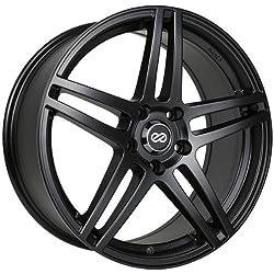 18×8 Enkei RSF5 (Matte Black) Wheels/Rims 5×114.3 (479-880-6550BK)