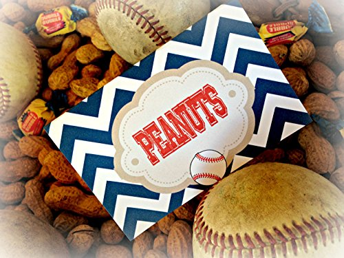 12-food-tents-vintage-baseball-little-slugger-happy-birthday-collection-navy-chevron-red-stripes-whi