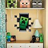 Minecraft Wall Clings (Creeper Inside)