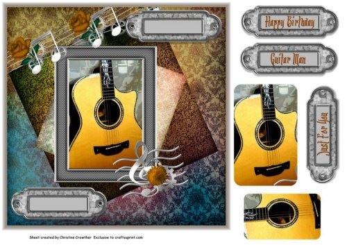 guitar-man-just-for-you-biglietto-di-auguri-di-compleanno-di-christine-crowther
