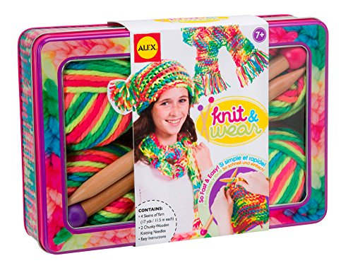 Alex Toys Alex Toys Do It Yourself Wear Knit And Wear Craft Kit