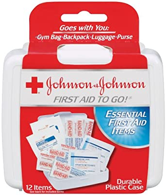 Johnson & Johnson Red Cross First Aid To Go First Aid Kit(Pack of 48) by Johnson & Johnson Red Cross