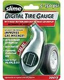Slime 20017 Digital Tire Gauge 5-150 PSI with Lighted Tip