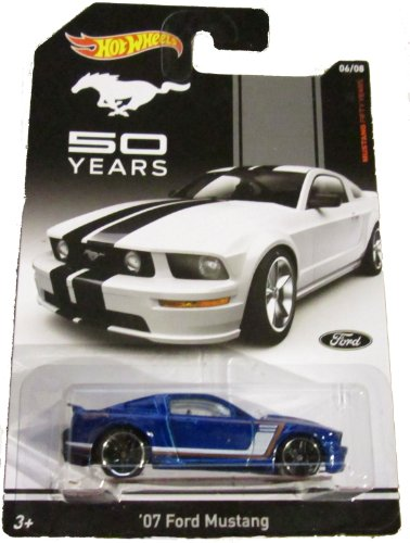 Hot Wheels - Mustang Fifty Years - 06/08 - '07 Ford Mustang - 1