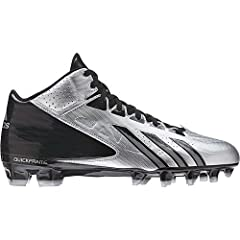 Buy Adidas Mens Filthy Quick Mid Molded Football Cleats   by adidas