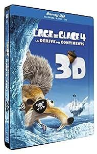 L'Age de glace 4 : La dérive des continents [Combo Blu-ray 3D + Blu-ray + DVD - Édition boîtier SteelBook]