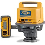 Spectra Precision Laser LL500 Exterior Self-Leveling Laser Level With HL700 Receiver (Color: Yellow)