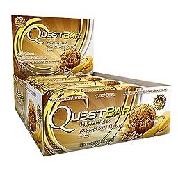 QuestBar Natural Protein Bar, Banana Nut Muffin 12 ea