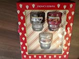 Yankee Candle Christmas Keepsake Box With 3 Small Jars Gift Set