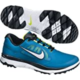 Nike Golf Men's Nike FI Impact Golf Shoe,Military Blue/Venom Green/Black/White,10.5 M US