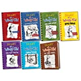 Jeff Kinney Diary of a Wimpy Kid Pack, 7 books, RRP £58.93 (Diary Of A Wimpy Kid; Rodrick Rules; The Last Straw; Dog Days; The Ugly Truth; Cabin Fever; The Third Wheel).