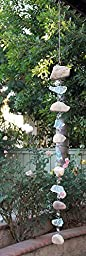 Natural Rocky Stone and Glass Garlands Galvanized Wire (4 ft)