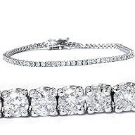 3.00CT Diamond Tennis Bracelet 14K Wh…