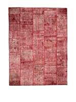 CarpeTrade Alfombra Vintage Persian Collage (Vino)