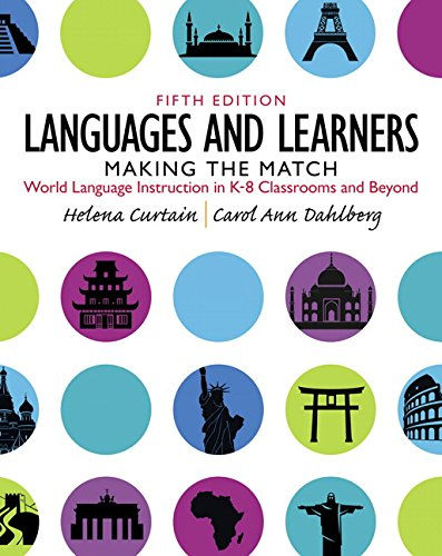 Languages and Learners:Making the Match: World Language Instruction inK-8 Classrooms and Beyond