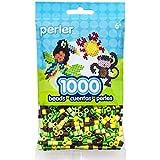 Perler Striped Beads 1000/Pkg-Garden