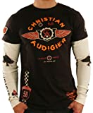 IMAGE OF CHRISTIAN AUDIGIER Ed Hardy Flame Throwers Mens T-Shirt Size XL