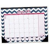 2015 Calendar Year Desk Calendar with Vision Board January 2015 to December 2015 16