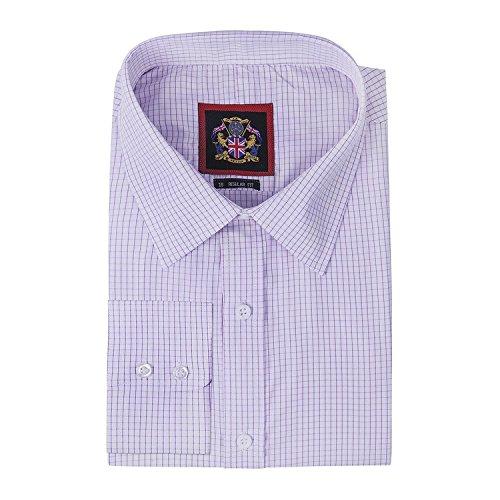 janeo-mens-shirts-camicia-classiche-a-quadri-maniche-lunghe-uomo-purple-single-cuff-51-cm
