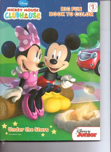 Mickey Mouse Clubhouse Big Fun Book to Color ~ Under the Stars