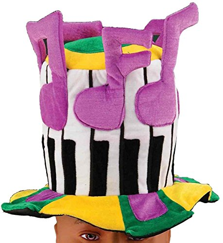 Forum Novelties Men's Adult Mardi Gras Piano Man Hat