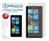 ITALKonline Screen LCD Scratch Protector (10 Pack) & MicroFibre Cloth For Nokia Lumia 800