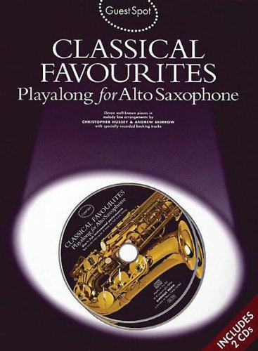 Guest Spot: Playalong For Alto Saxophone