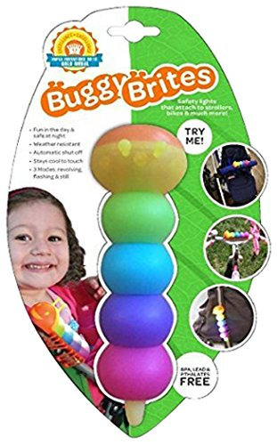 Buggy Brites Caterpillar Stroller Activity Safety Light for Strollers, Backpacks and More - 1